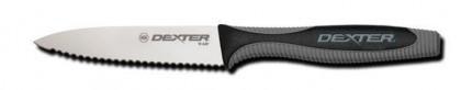 "Dexter Russell V-Lo 3 1/2"" Scalloped Paring Knife 29483 V105SC"