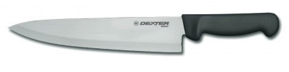 "Dexter Russell Basics 10"" Cooks Knife Black Handle 31601B P94802B (31601B)"
