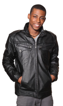 Wilda | Chris Leather Jacket