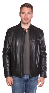 Christian NY | Stanton Leather Moto Jacket