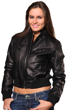 Wilda | Rocha Leather Jacket