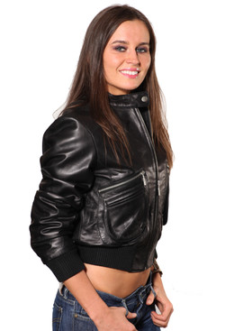 Wilda | Jamie Leather Jacket
