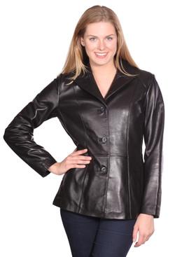 NuBorn Leather   Tribeca Leather Blazer