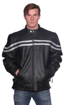 Wilda | Links Leather Jacket