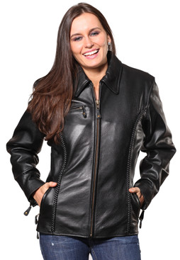 Wilda | Vicki Leather Jacket