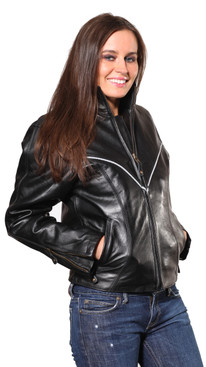 Wilda | Carli Leather Jacket