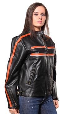 Wilda | Lacy Leather Jacket
