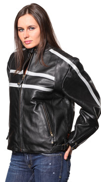 Wilda | Krista Leather Jacket