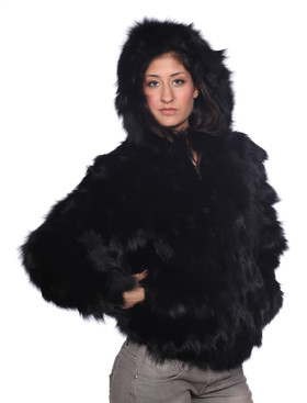 Wilda | Lyla Fox Fur Coat