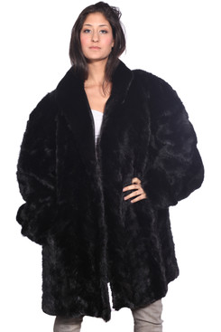 Wilda | Vanderbilt Ranch Mink Fur Coat