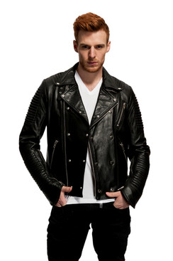 Mason & Cooper | Empire Leather Moto Jacket