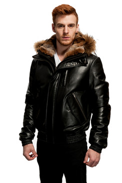 Original Goose | Wade Leather/Down Filled Bomber