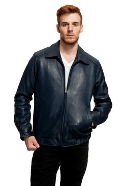 Mason & Cooper | Walden Leather Bomber Jacket