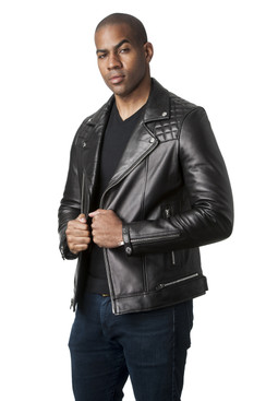 Mason & Cooper | Astor Leather Moto Jacket