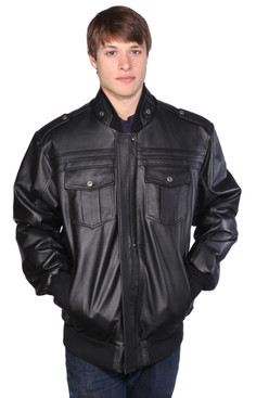 Wilda | Clayton Leather Jacket