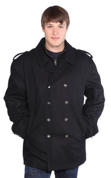 Wilda | Ned Wool Peacoat