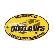 Street Outlaws Authentic Racing Patch