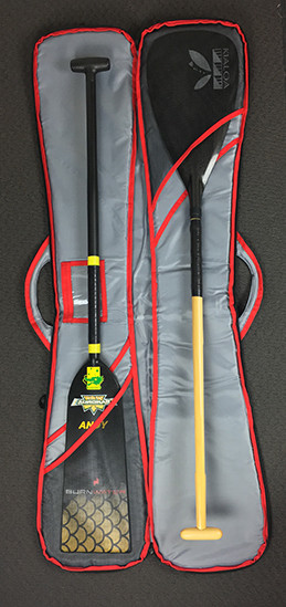 Fits up to 4 dragon boat or outrigger canoe paddles.