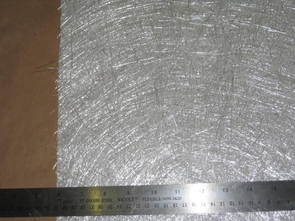 "5 yards Rolled Fiberglass 1.5oz X 50/"" Chopped Strand Mat"