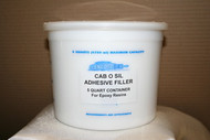 two (2) CAB O SIL  Adhesive Filler 5qt $37.0