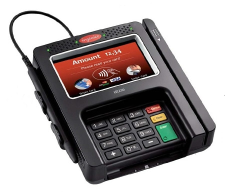 Ingenico ISC250 Touch Credit Card Terminal
