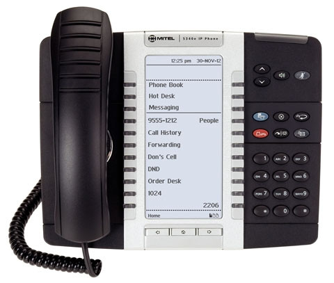 Mitel 5340e Gigabit IP Phone