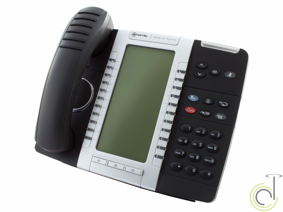 Mitel 5340 IP Phone MiVoice Backlit Dual Mode (50005071)