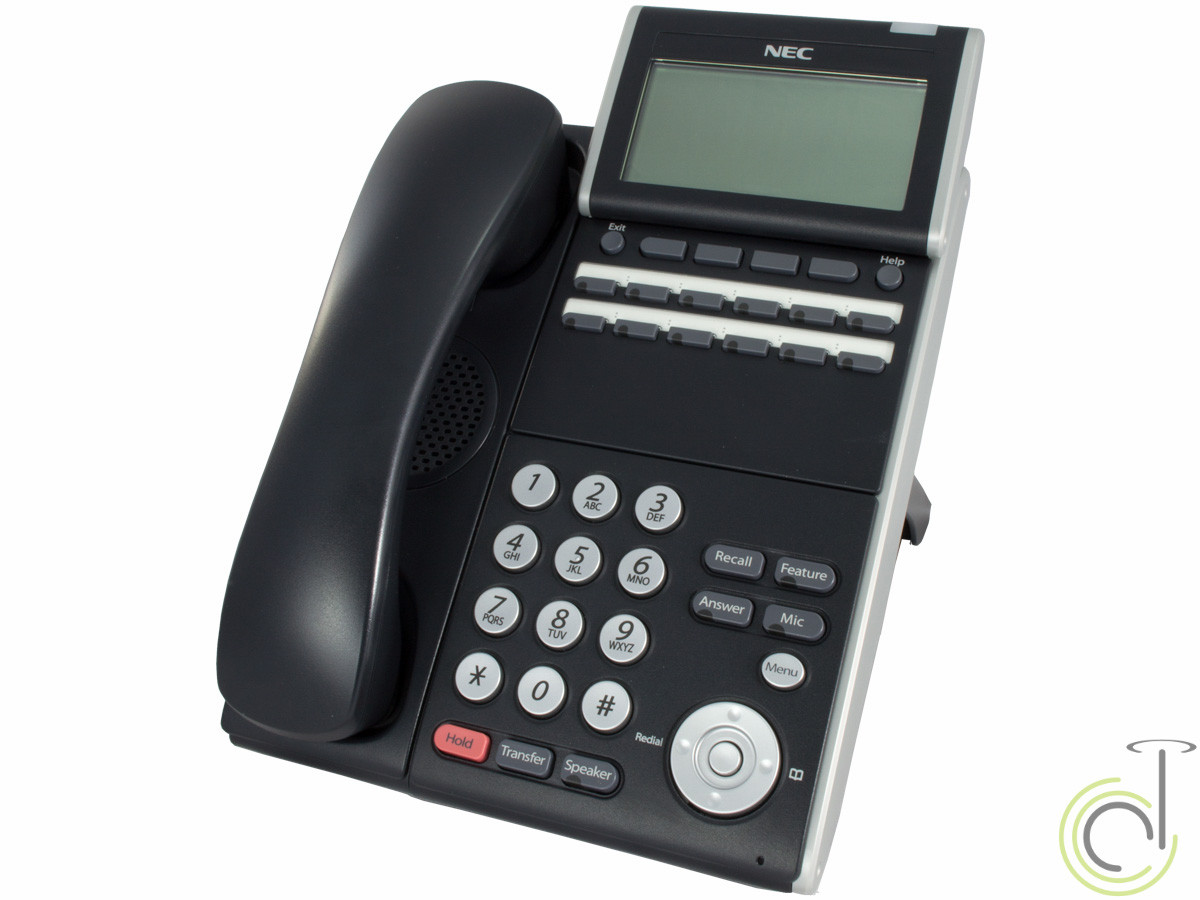 NEC DT300 Series DTL-12D-1 Backlit Phone