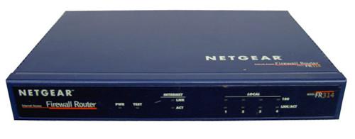 Netgear FR314 Cable/DSL Firewall Router 4-Port Switch