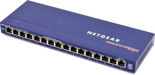 Netgear ProSafe FS116 16 Port 10/100 Ethernet Switch