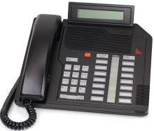 Nortel Meridian M2616 Black Phone