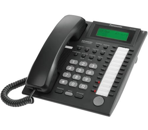 Panasonic Kx T7735 B Super Hybrid Digital Phone