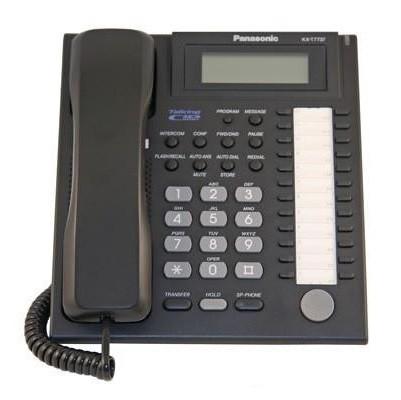 Panasonic KX-T7737 Digital Phone 24 Button Display