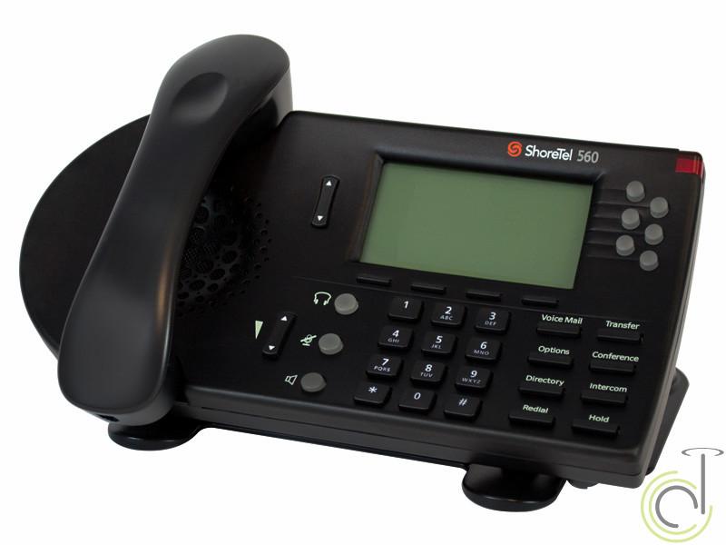 ShoreTel 560G Black IP Telephone C-Stock
