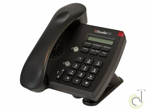ShoreTel IP 115 Phone (Black)