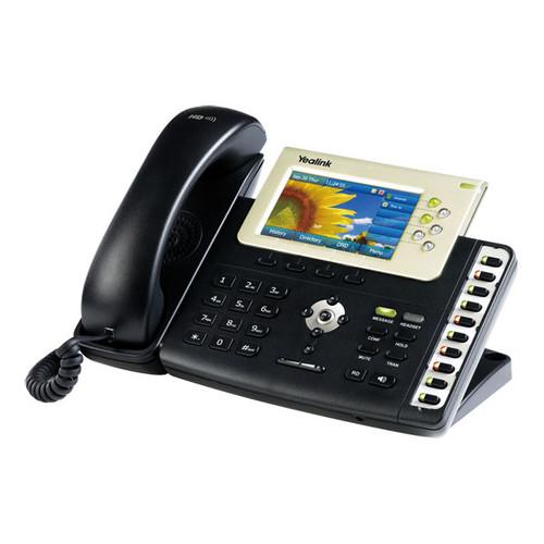 Yealink SIP-T38G Gigabit SIP IP Phone Color Display