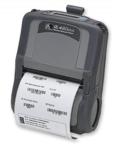 Zebra QL420 Plus Mobile Thermal Printer WiFi