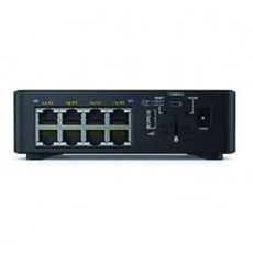 Dell Networking X1008P PoE+ Gigabit Network Switch