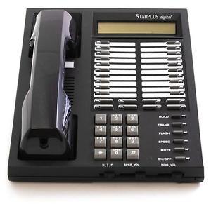 Vodavi SP-1414-71 Starplus Digital Phone Black