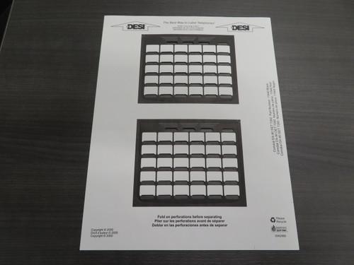 Comdial 7260-00 DX-80 Paper