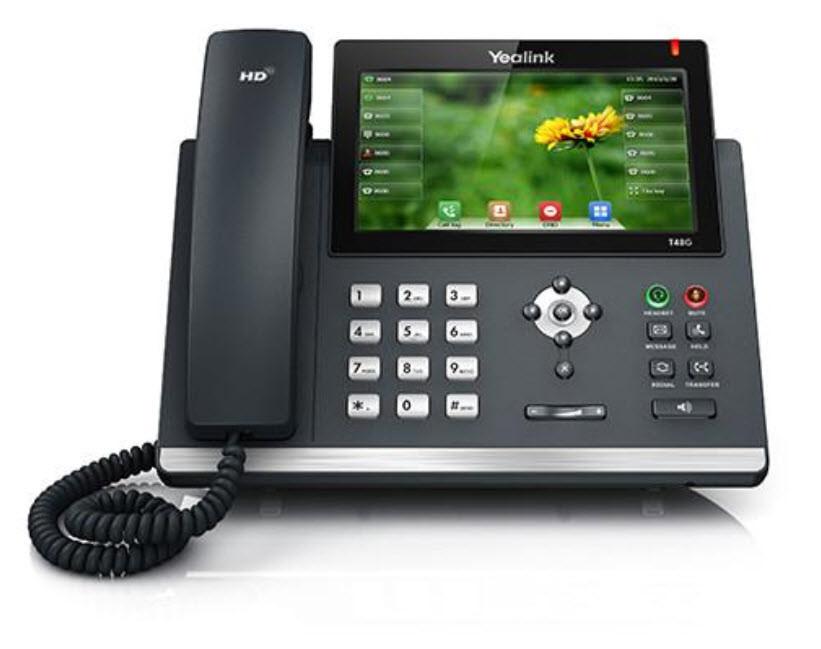 Yealink T48G Gigabit Color Touchscreen IP Phone (SIP-T48G)