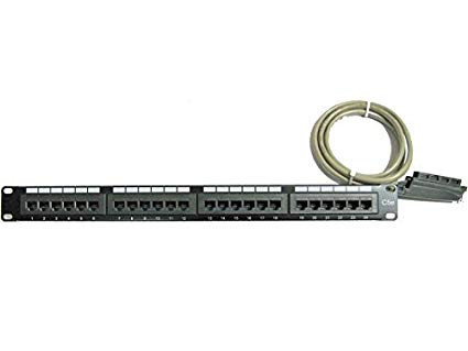 ShoreTel 24 Port Patch Panel with Amphenol Cable