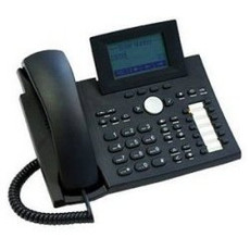 Bizfon BizTouch6 BT6 Biztouch Black Business Corded Phone