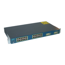 Cisco 2950 Catalyst 24 Port Switch WS-C2950G-24-EI