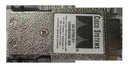 Cisco GBICS WS G5484 1000Base SX 30 0759 01
