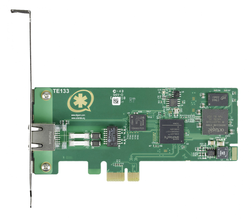 Digium TE122P Single T1 PCI Card