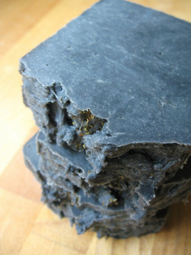 Clean Slate Hot Process Facial Soap - Charcoal, Tea Tree, Clary Sage, Peppermint Essential Oils... Coconut-Free Formula