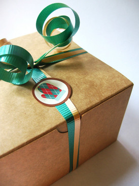 Set of SIX Custom MINI Gift Sets - Sample Sizes in Soap, Lotion, Scrub - Flat Rate Shipping