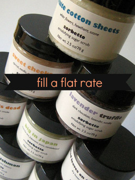 Fill a Flat Rate Envelope - Pick Any 10 Mini Scrubs with Flat Rate Shipping