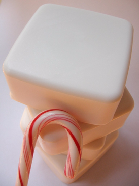 White Snow, Bright Snow Luxury Glycerin Soap - Peppermint, Fresh Snow, Pale Vanilla... Yuletide Limited Edition